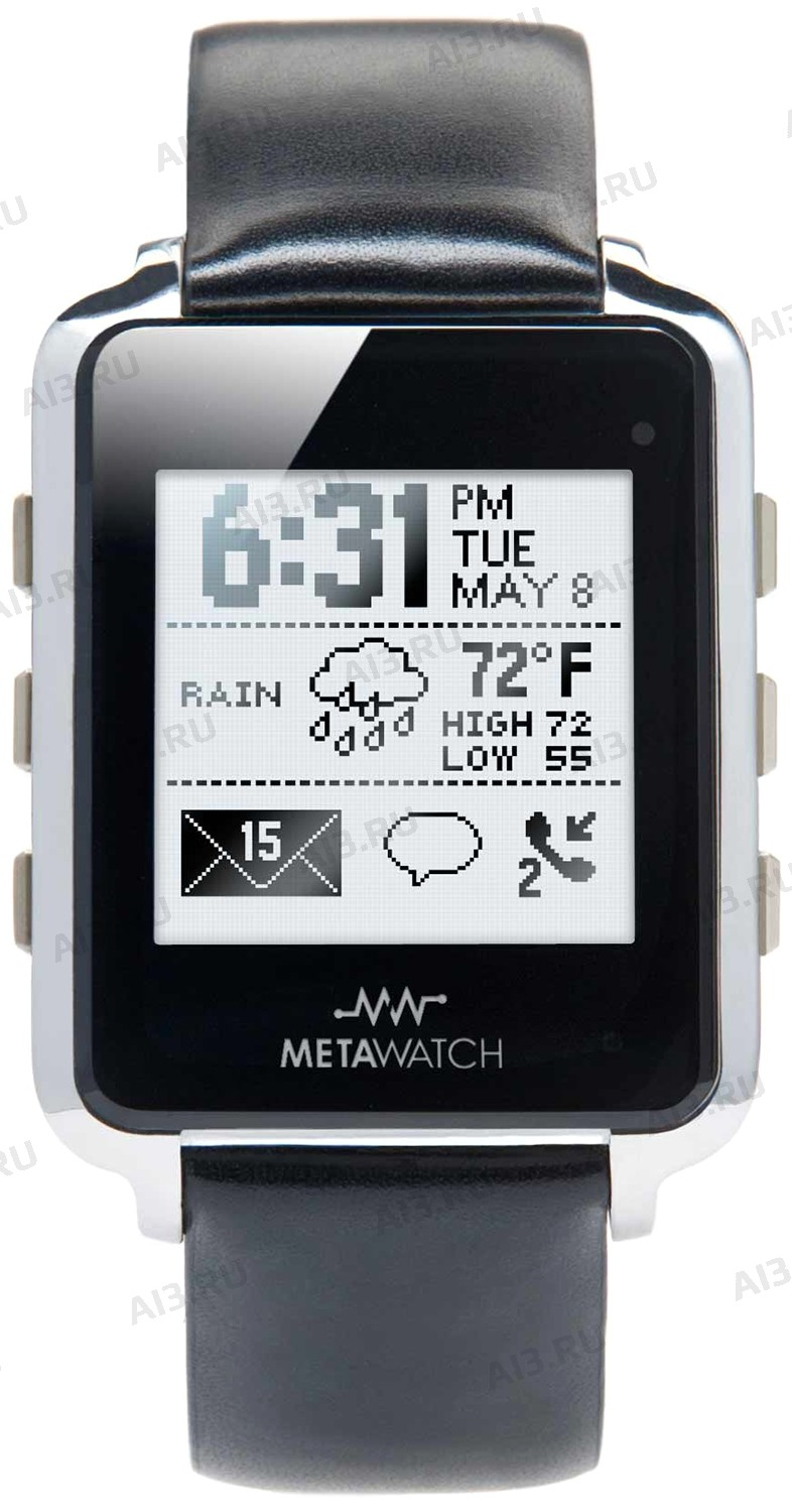 MetaWatch SmartWatch Рамка Черный Stealth